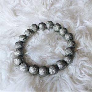 Jewelry - Sparkly Silver Beaded Bracelet